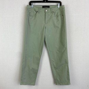 CALVIN KLEIN JEANS Green Stretch Chino Pant